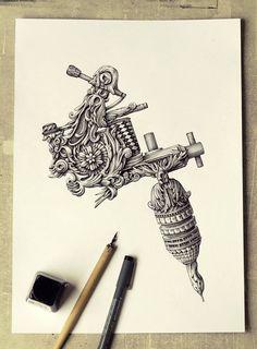 Espectaculares Ilustraciones Detalladas por Alex Konahin | FuriaMag | Arts Magazine