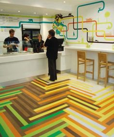 Floor design - special for illusion lovers   incredible-pictures.com