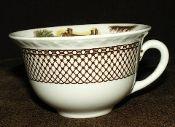 Myott Staffordshire Shakespeare Land Tea Cups