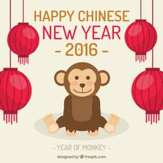 happy-chinese-new-year-2016-with-a-cute-monkey
