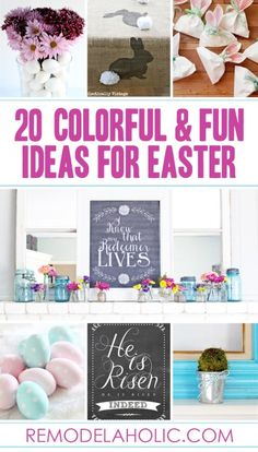 25 Fun and Colorful