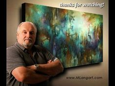 "36"" x 60"" Abstract Expressionism painting. Beginning to end . Defining art my way! How I do it.                      www.MLangart.com    facebook   mlangart"