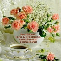 """Képtalálat a következőre: """"P Good Morning Images Download, Good Morning Flowers, Have A Blessed Day, Mom And Dad, Floral Wreath, Table Decorations, Tableware, Morning Quotes, Letters"""