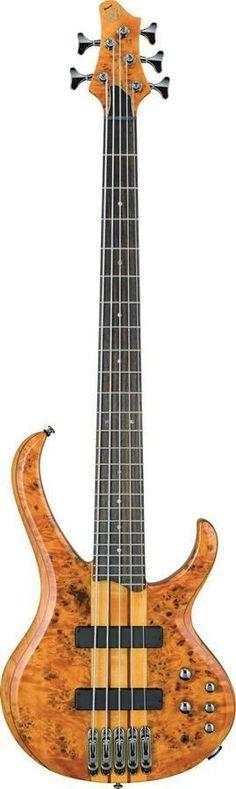 Ibanez BTB775PB 5 String Bass Guitar