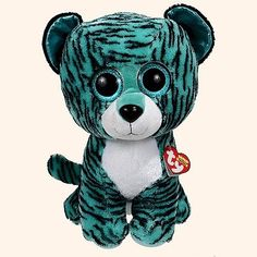 ba4a8855846 Ty Beanie Boos Tess - Tiger Large (Justice Exclusive)