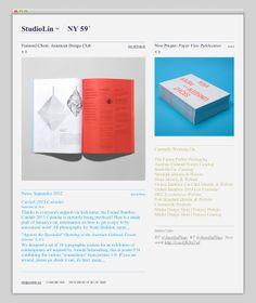 Studio Lin (Nice Portfolio Presentation)