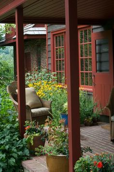 Kitchen Patio   Donald Pell - Gardens