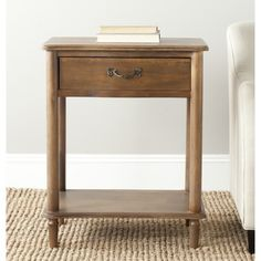 Safavieh Samson Antique Brown End Table - Overstock Shopping - Great Deals on Safavieh Coffee, Sofa & End Tables