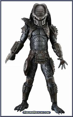 NECA Predator Series 6 Warrior Predator Figure 2012