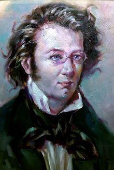 Franz Schubert By Francisco Sanchis Cortés