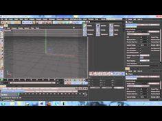 CINEMA 4D- SPLINE WRAP + EMITTERS - TUTORIAL - YouTube