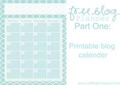 FREE blog planner printables. Pin now read later there are lots of great crafts on here.