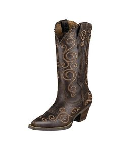 04119c956a96 Ariat Women s Shelleen Boot - Port Brown - LOVE THESE BOOTS!!!! I