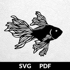 Fish Stencil, Stencils, Paper Cutting Patterns, Paper Cutting Templates, 3d Cuts, Paper Art, Paper Crafts, Fish Wall Art, Japanese Embroidery