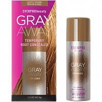 Everpro - Gray Away Temporary Root Concealer in Color:Lightest Brown Blonde Concealer, Black To Silver Ombre, Gray Away, Grey Hair Coverage, Hair Care, Peinados Pin Up, Semi Permanente, Root Touch Up, Temporary Hair Color