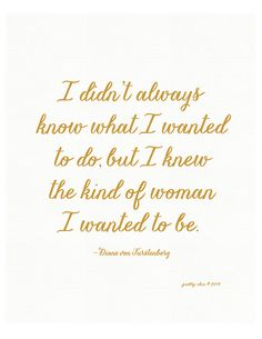 The Kind of Woman Print Diane von Furstenberg by prettychicsf