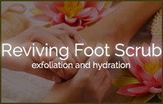 Reviving Foot Scrub