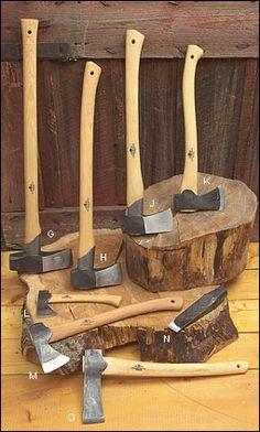 Gränsfors Axes from Sweden - Woodworking