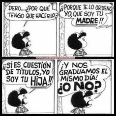 imagenes de mafalda con frases | 10 frases de mafalda que te harán pensar - Taringa!