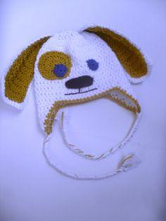 Newborn Crochet Puppy Hatboys girls crochet puppy by StephanDesign, $20.00