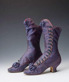 .paarse vict laarzen