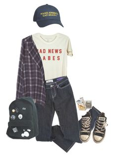 """ParkingLotWitness"" by pizzamilkshake ❤ liked on Polyvore featuring Zara and Converse"