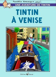 Tintin à Venise