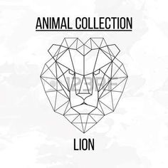 58793501-geometric-animal-lion-head-background.jpg (450×450)