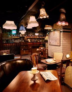 Cahoots Bar in London - an underground cocktail bar