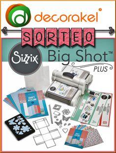 Sorteo Decorakel Big Shot Kit, Big Shot, Cricut, Crafts, Prize Draw, Projects, Manualidades, Pockets, Store