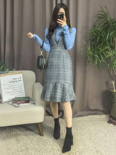 Korean Fashion Trends you can Steal – Designer Fashion Tips Korean Girl Fashion, Korean Fashion Trends, Korean Street Fashion, Ulzzang Fashion, Korea Fashion, Asian Fashion, India Fashion, Cute Casual Outfits, Modest Outfits