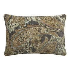 """Danube 24x16"""" pillow from Crate & Barrel, $79.95"""