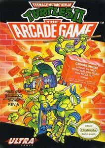 Teenage mutant ninja turtles arcade game for NES.