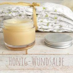 Honig-Wundsalbe-Rezept ° Golden-Balm-Rezept - Mamablog & Shop by Elfenkind
