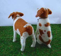 DOGS - 1 Britney Spaniels - Needle Felted By (Trish Veilleux)  I Felt That - needle felting by Trish on Facebook