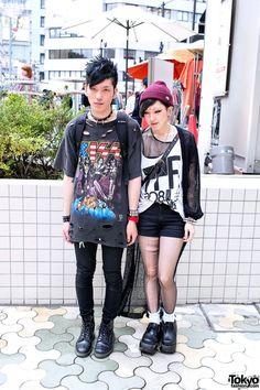 Ça vous dirait de voir les vêtements tendances pour l'instant au Japon?