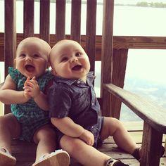 twins, boy & girl