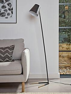 NEW Dina Floor Lamp - Black - Botanical Loft