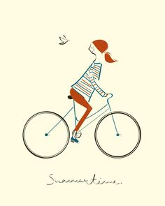 Blanca Gomez - Bike