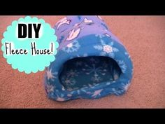 HOW TO MAKE A BED FOR YOUR PET ||DIY- GUINEA PIG'S BED|| - YouTube