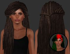 "plumblobs: "" This was going to be for Halloween but that's kinda been ruined, so I'm uploading it now. • Hallowsims Storm Available for Teen-Elder females. Custom thumbnails, compressorized. Textures taken from University Life. Mesh by XIO (IMVU),..."
