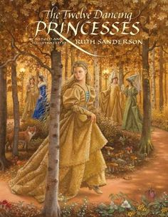 Retells the tale of twelve princesses who dance secretly all night long and how…