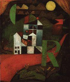 Ville R, 1919, Paul Klee, Bâle, Kunstmuseum