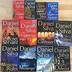 Daniel Silva; Traded In recently @ Canterbury Tales Bookshop / Book exchange / Cafe / Guesthouse / Pattaya, Thailand.