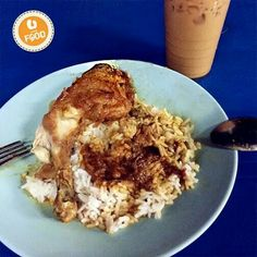 This is not your ordinary Nasi Kandar. It's actually the best Nasi Kandar you'll ever taste. In fact, you'd have to queue up for a good 30 minutes before actually getting a taste. But we assure you, the Nasi Kandar at Nasi Kandar Beratur, Penang is worth the wait.   #UFoodMamak #UfoodPenang #Ufood