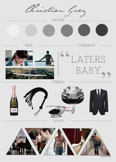 Fifty Shades of Grey moodboards - Christian Grey (insp.)