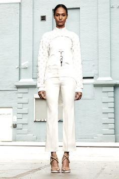 Givenchy | Resort 2012 Collection | Joan Smalls Modeling | Style.com