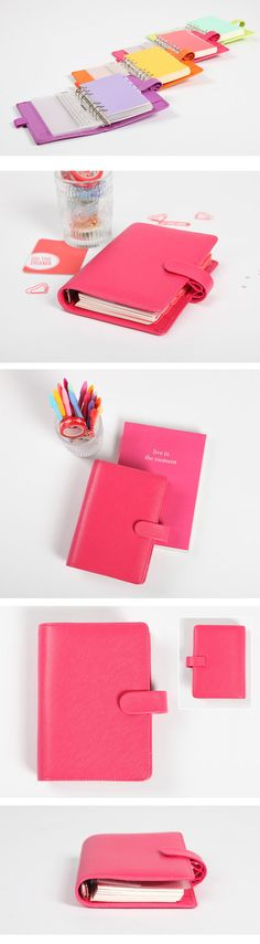 [dokibook] hand account double pen loose leaf notebook A6/A5 personal 8 color options - SpreeNow.com