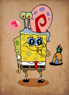 spongebob squarepants by ♥pinterest➡@Nor Syafiqah♥