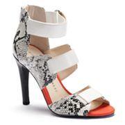 Rock & Republic® Women's Banded Peep-Toe High Heels